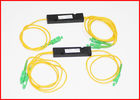 Fiber Optic 1x32 PLC Splitter Multimode Splice / Pigtails Blockless Type